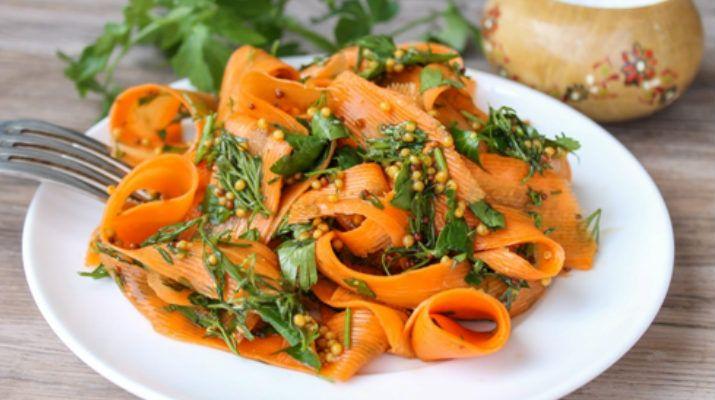 Буквально 5 минут вашего времени и сочное, яркое и полезное блюдо уже будет радовать вас …