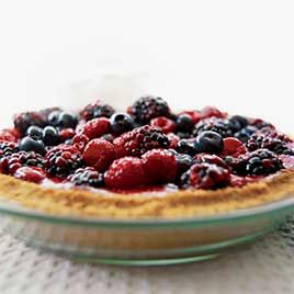 No-bake berry pies often turn out soupy, chewy, or tasteless. Could we make a pie with great texture and flavor--and still keep it simple?