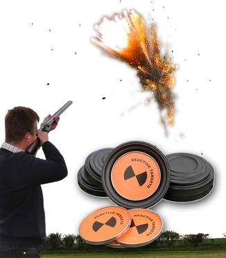 Exploding Clay Pigeon Targets | Target, Clay and Guns
