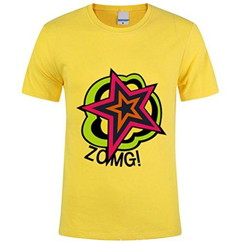 Poetic Walk Hot Anim Persona 5 Ryuji Sakamoto Cosplay Costume Tshirt (Large, Yellow):   brPoetic Walk Hot Anim Persona 5 Ryuji Sakamoto Cosplay Costume Tshirt brPackage:one good quality tshirt brFabric:cotton brSize:please send your measurements refer to the size chart in the galley ,height,weight,chest,waist,shoulder width to us via email ,then we will help you to find the most suitable size for you,1inch=2.54cm.If you don't ensure the size,please email us your measurements too. brShi...