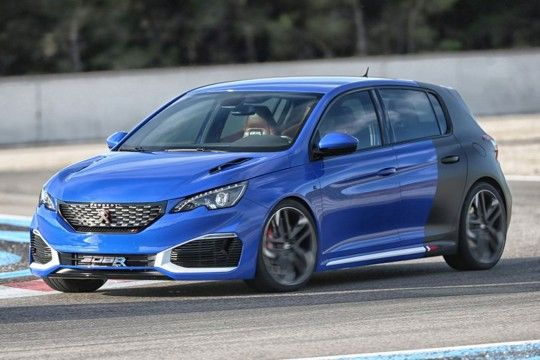 PEUGEOT 308 R HYBRID LAUNCH CONTROL DEVELOPPEMENT