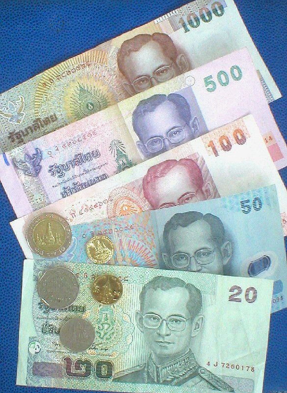 Thai Baht (THB, ฿, บาท) is the currency of Thailand and it is divided into 100 Satang (สตางค์). It's always to to know money stuff before traveling :)