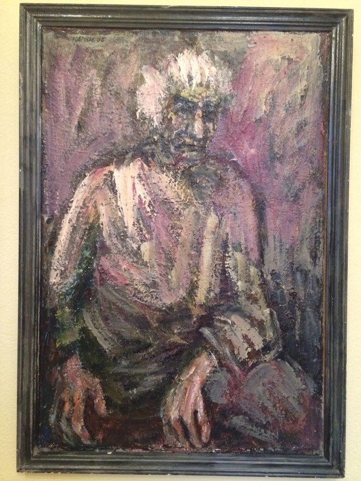 Karimullin Ravkat. Oil on canvas 110/90cm.2006.