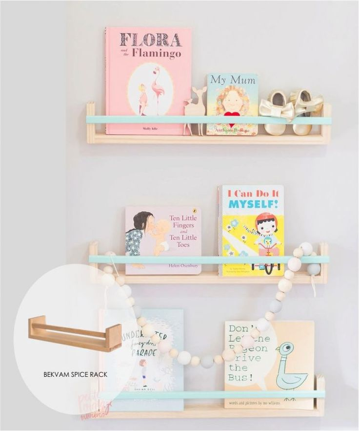 Here are five cool shelf ideas for a kids room. Using just IKEA shelves, here are five ways to transform those basic shelves in to a stunning feature.