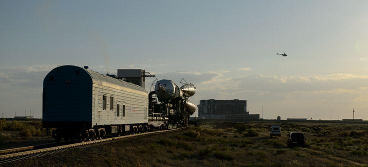 Expedition 40 Preflight: Soyuz Rocket Rolls Out | NASA