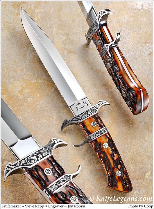 Loveless Style Big Bear Fighter from master knife maker Steve Rapp
