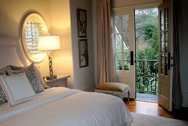 schlafzimmer flügeltür-französisch balkon-eingang