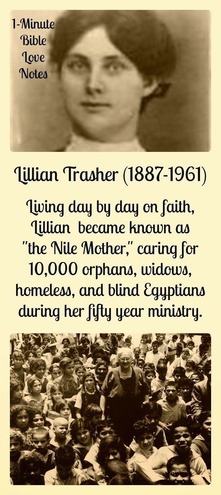 La misionera de Egipto.