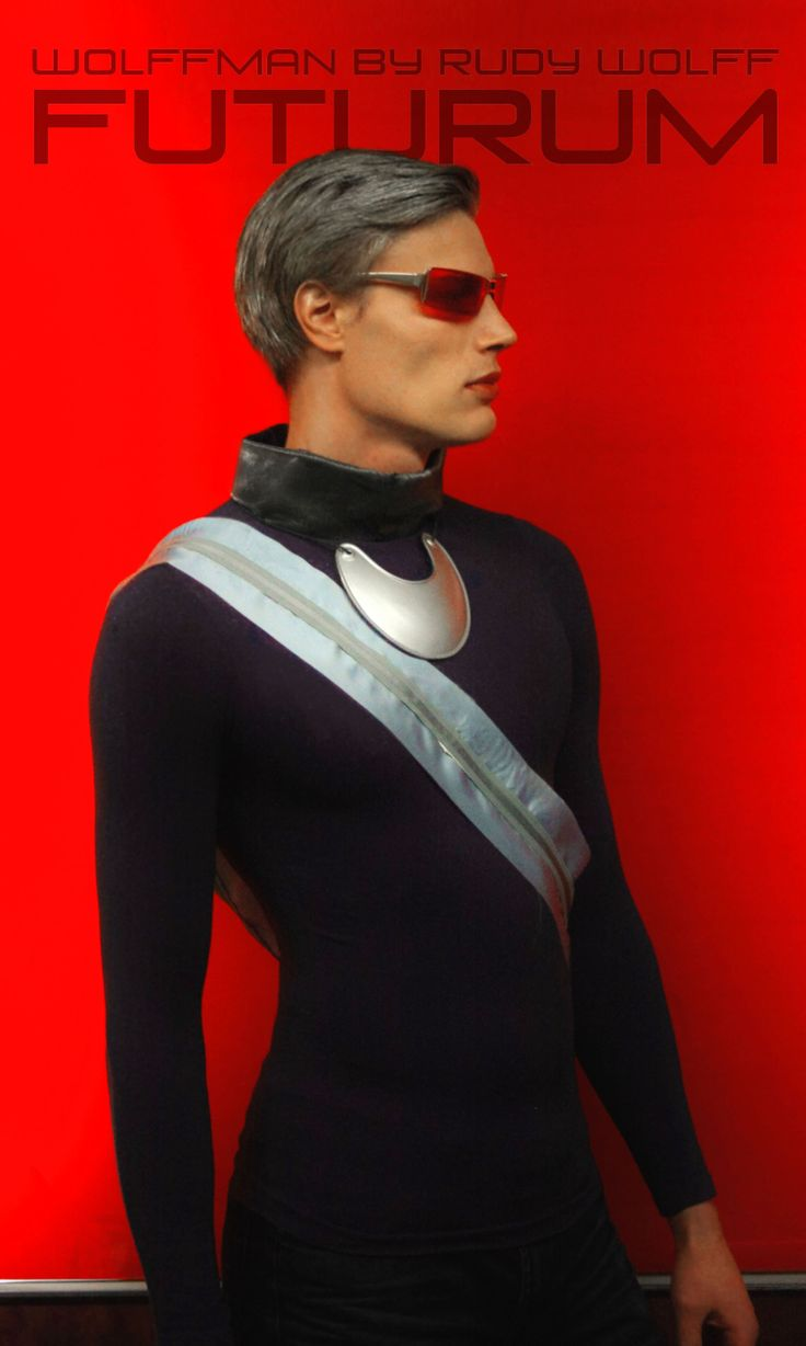 Model: Anders B, clothes, styling & photography: Rudy Wolff/Wolffman by Rudy Wolff