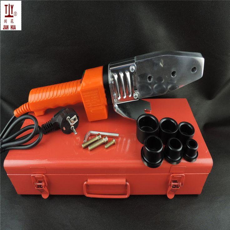 New Electronic constant temperature PPR fuser water pipe hot melt machine die PB PE 20-32mm heat welding machine for plastic