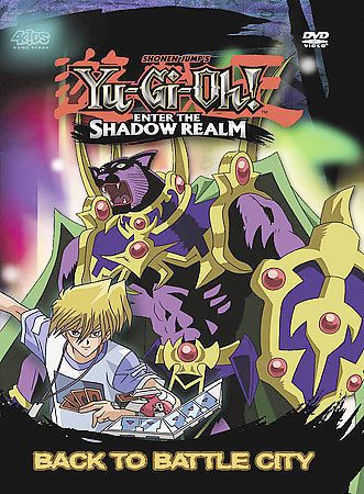 Yu-Gi-Oh: Enter the Shadow Realm - Vol. 1: Back to Battle City (DVD, Edited)