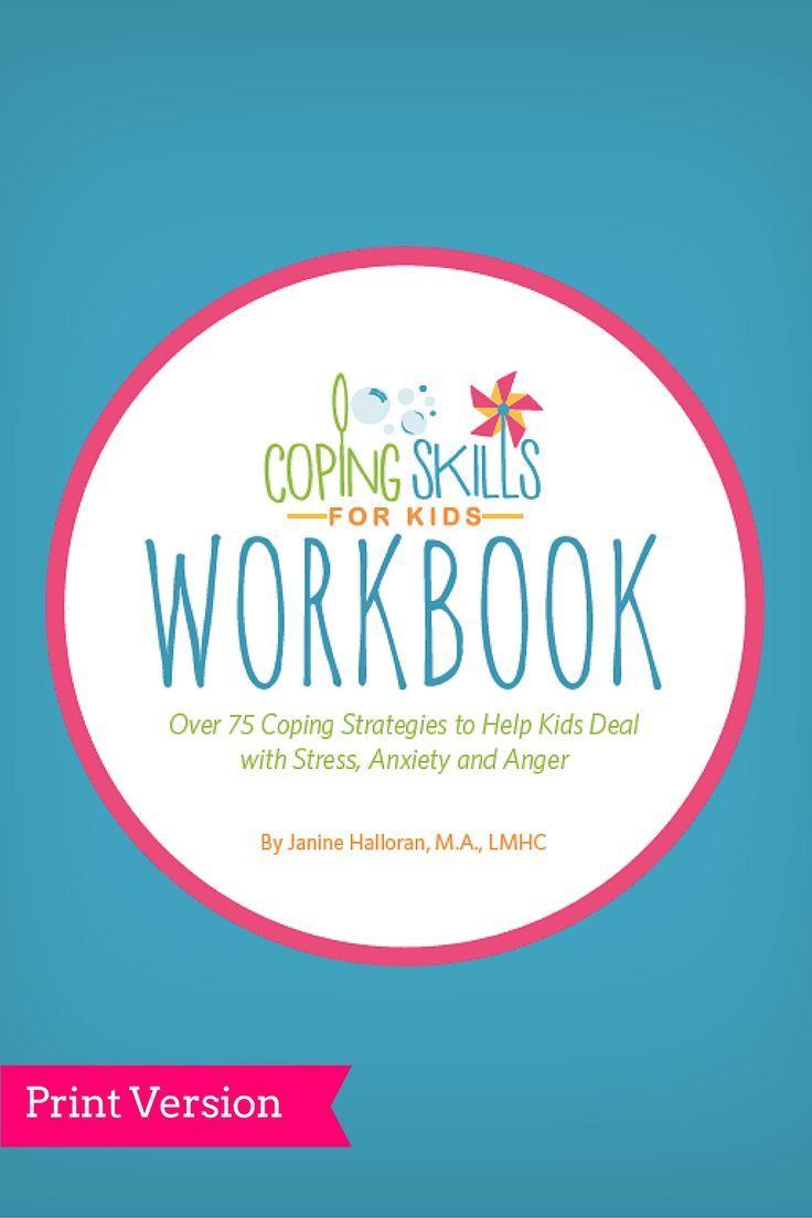 Workbooks anti anxiety workbook : 95 best Coping Skills for Kids images on Pinterest | Coping skills ...