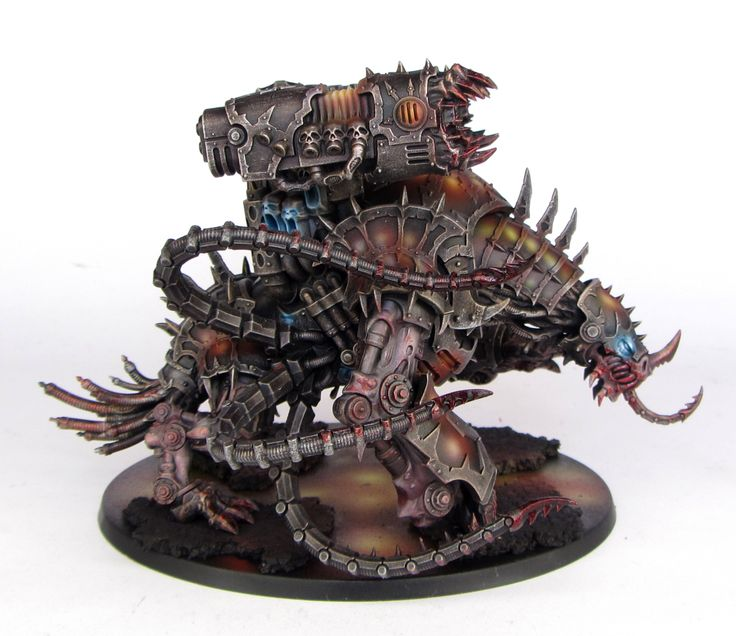 Warhammer 40k Chaos Space Marines: Chaos Space Marines Forgefiend / Maulerfiend