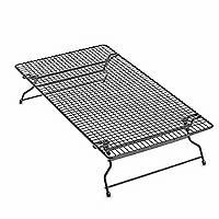 Stackable Cooling Rack by Pampered Chef  This nonstick cooling rack really stacks up! Use flat or stacked onto another rack to save space while cooling baked goods.