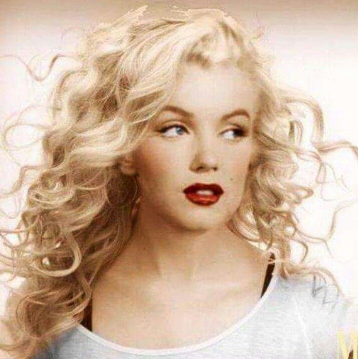 Prominente Marilynmarilyn Marilyn Monroe Frisuren Prominente Frisuren Langhaar