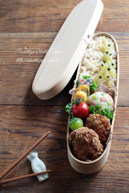 春キャベツ入りメンチカツ弁当 |あ~るママオフィシャルブログ「毎日がお弁当日和♪」Powered by Ameba