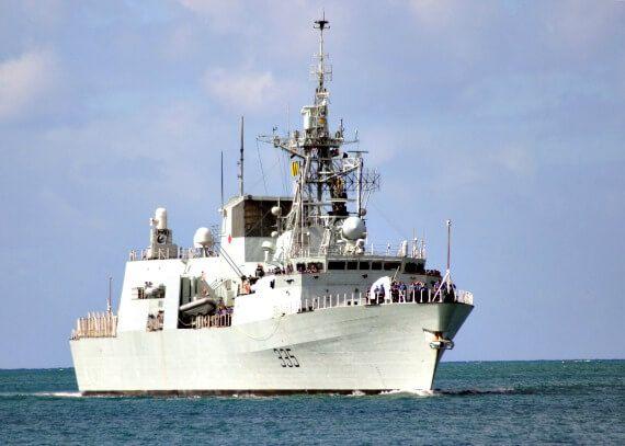 HMCS Calgary, Royal Canadian Navy