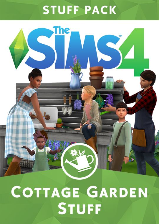 PlumBobTeaSociety fan made Sims Cottage Backyard Stuff Pack is superb!