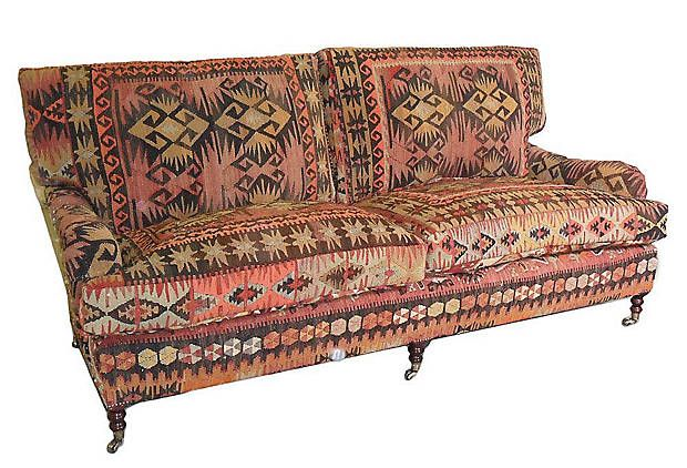 Rose Kilim Couch