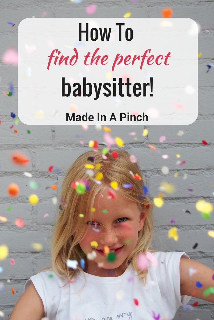 Finding a babysitter doesn't need to be stressful! These tips will make it simple to find the perfect babysitter for your family! #nanny #momhacks #kids  #parenting