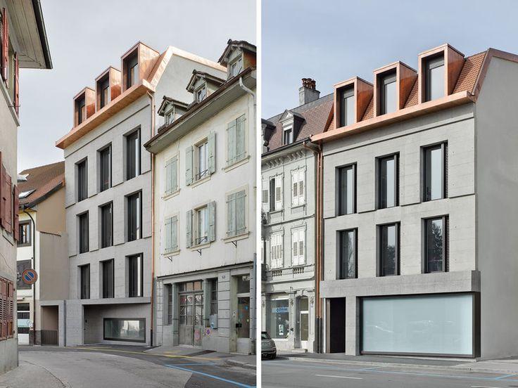best architects architektur award // Boegli Kramp Architekten / boegli kramp / Court building / Büro- & Verwaltungsbauten