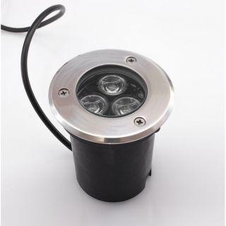 LED Bodeneinbaustrahler 9W Warmweiß