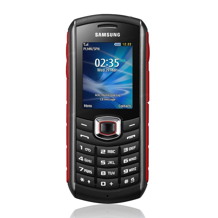 Samsung Xcover 271 B2710 -  The brand new rugged phone from Samsung. With the classic candybar red style.