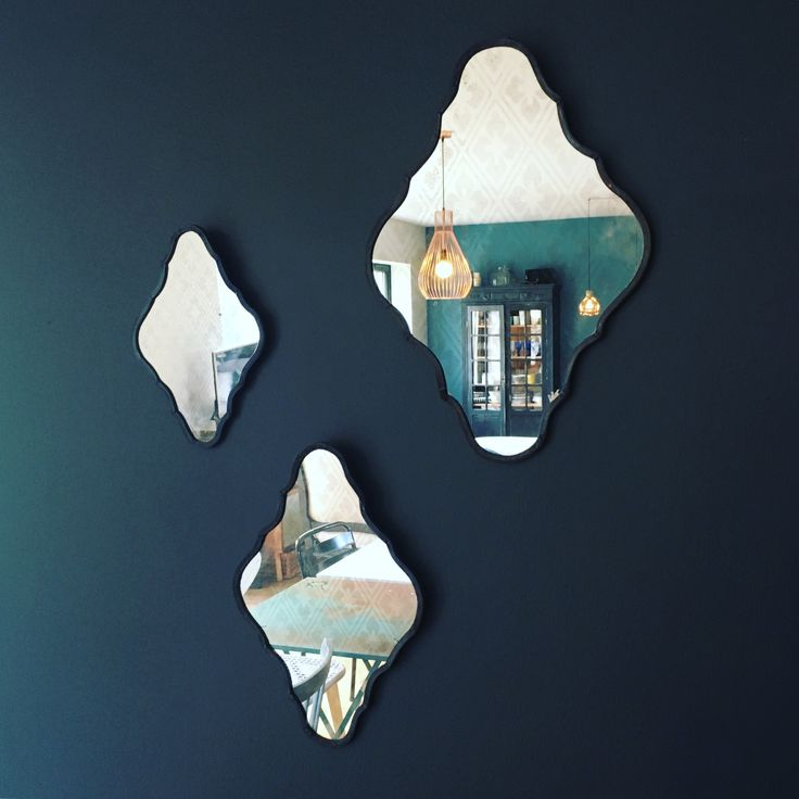 Miroirs Leocadie , vitrailliste toulousaine - en vente au bleu canard Toulouse