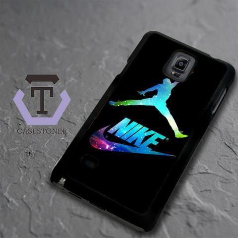 Michael Air Jordan Nike Galaxy Samsung Galaxy Note 4 Black Case
