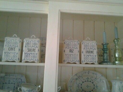 Boch copenhague oude voorraadpotten keuken moois pinterest voorraadpotten servies en - Deco oude keuken ...