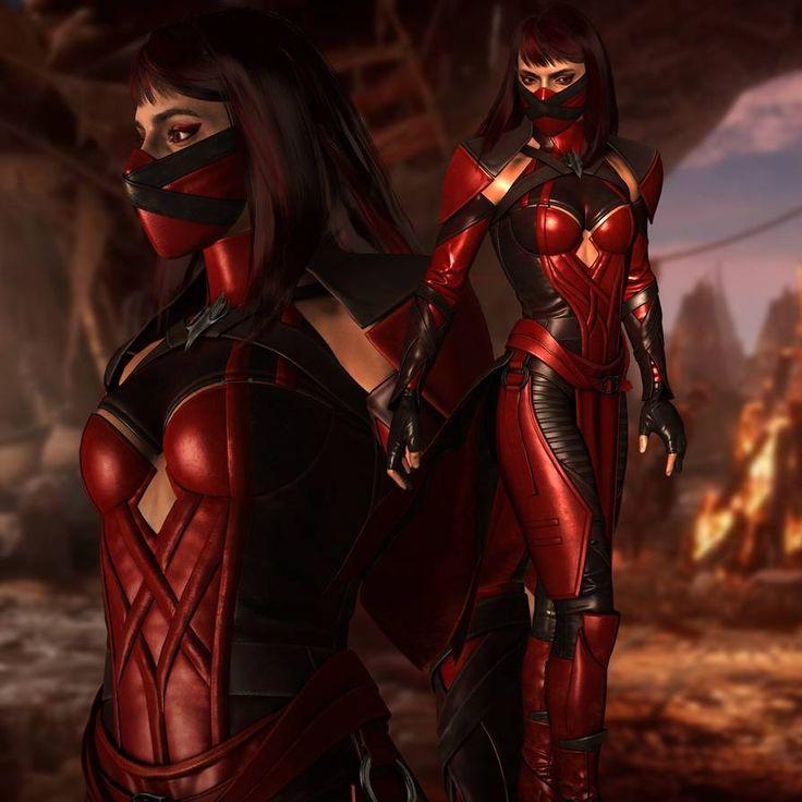 Mortal Kombat 9 Jade Costuming 5 by 2195Razielim on DeviantArt
