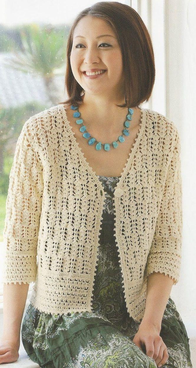 crochet cardigan 5