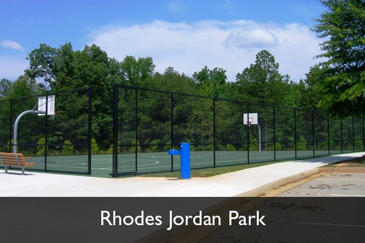 Outdoor Basketball Courts Rhodes Jordan Park Lawrenceville Georgia Www Gwinnettparks Com Jordan Parks Outdoor Basketball Court Basketball Park