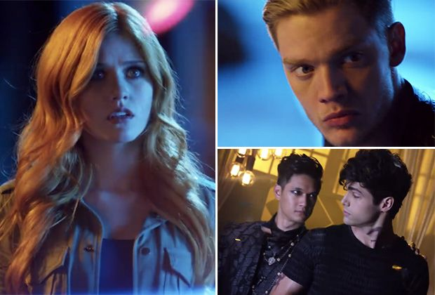VIDEO] 'Shadowhunters' Trailer — First Footage Of Clary, Jace ...
