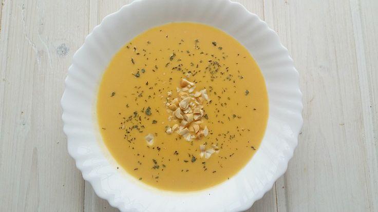 Crema de zanahoria Thai