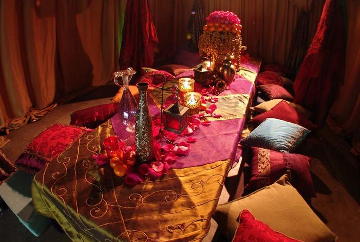 34 best images about 9 tem tica para boda on pinterest for Arabian night decoration ideas