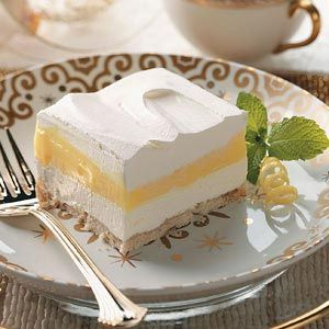 Lemon Pudding Dessert Recipe