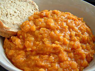 Indiai vöröslencse főzelék