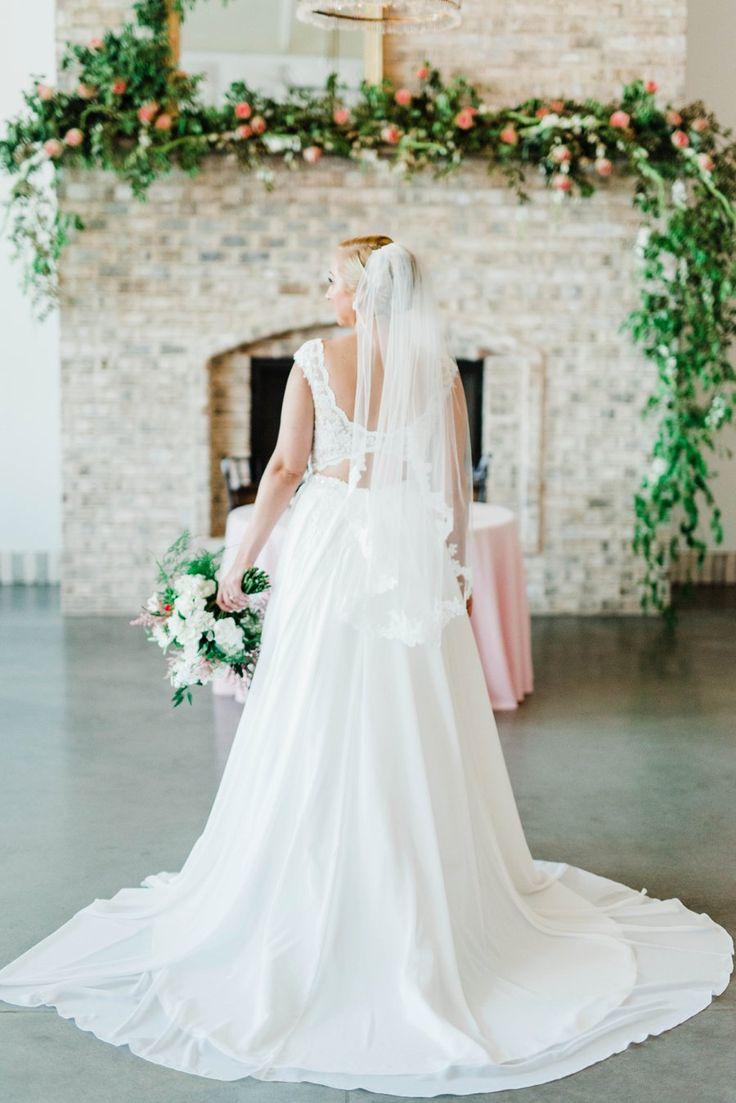 A Timeless Romantic Pink & White North Carolina Wedding