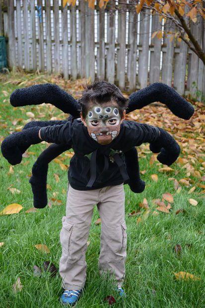 Black widow spider costume diy