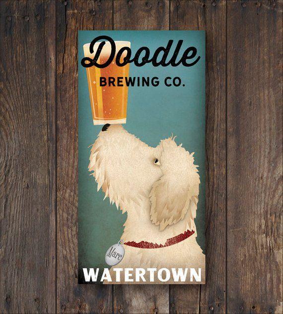 Goldendoodle Doodle Labradoodle Wall Art Decor Dog Lover Dog