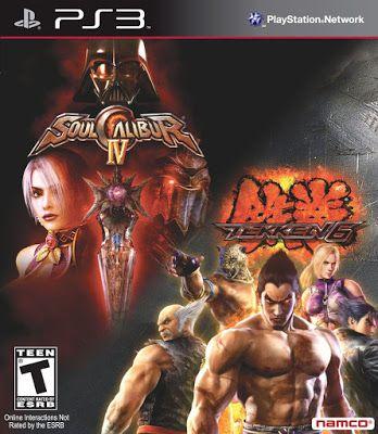 filme jocuri noutati: Tekken 6/Soulcalibur 4 Bundle - Playstation 3
