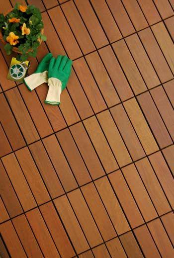 Swiftdeck Ipe Wood Deck Tiles