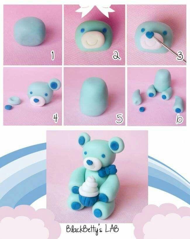 Картинки как делать фигурки из пластилина