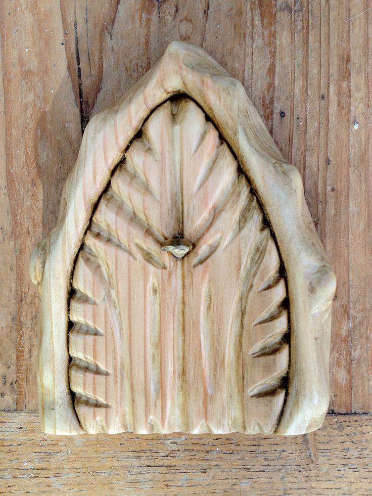 Fairy door wooden fairy doors pinterest for Fairy doors images