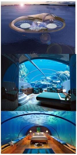 Underwater Hotel in Fiji