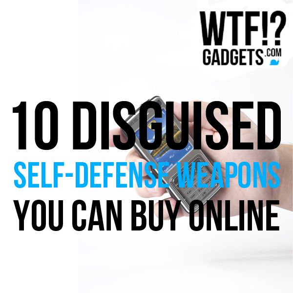 10 Disguised Self Defense Weapons to keep you safe on the streets