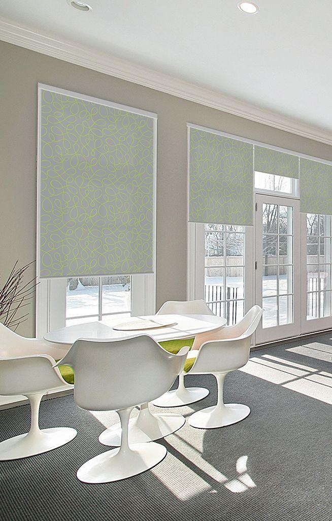 Louverdrape® biedt een uitgebreide variatie aan stoffen. Zowel verduisterend, halftransparant of transparant.