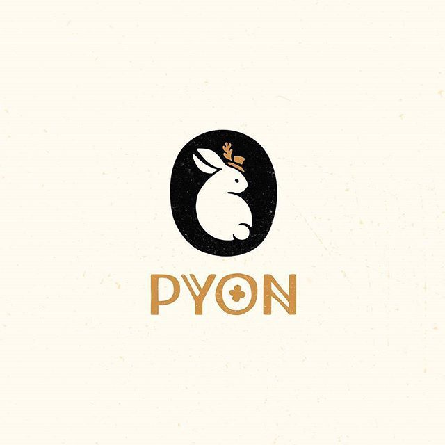 Logo inspiration: PYON by @erkaeva Hire quality logo and branding designers at Twine. Twine can help you get a logo, logo design, logo designer, graphic design, graphic designer, emblem, startup logo, business logo, company logo, branding, branding designer, branding identity, design inspiration, brandinginspiration and more. Didn't get high enough in math to count the pounds of happy this brings #exceptional