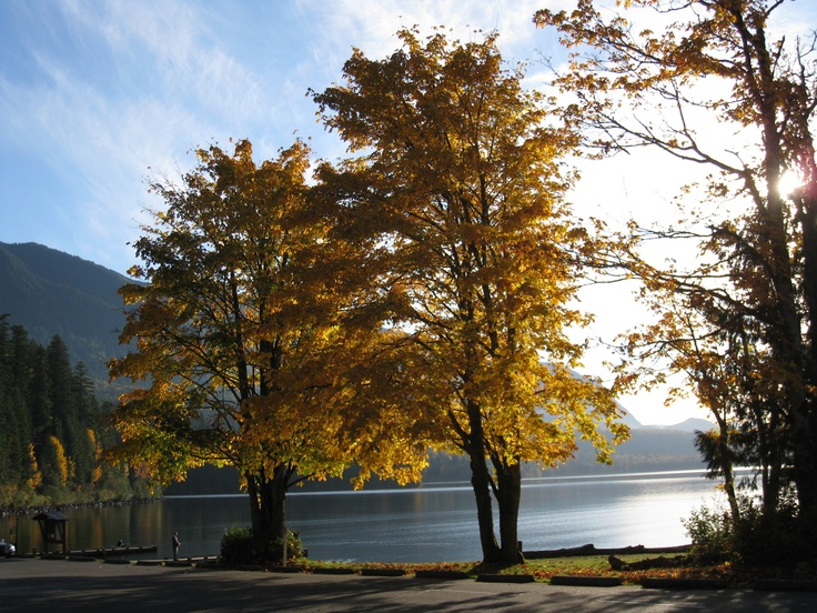 Cultus Lake in the fall - photo by marilyn